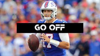 """Josh Allen    2019-2020 Highlights    """"Go Off""""    Buffalo Bills"""