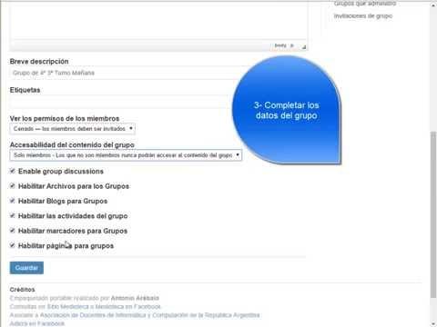 Servidor Educativo Web 2.0 Portable: 2- Crear Grupo de Alumnos