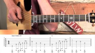 Boogie Woogie Blues Guitar Runs Lesson!