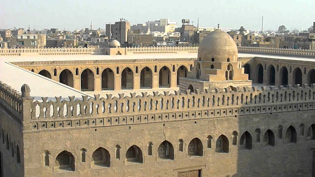 cairo: view from a minaret - youtube