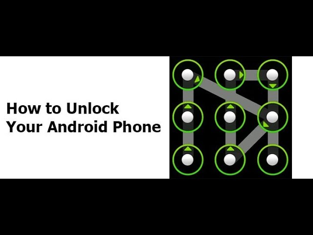 How To Unlock Android Pattern Or Password, No Software No Root Needed #1
