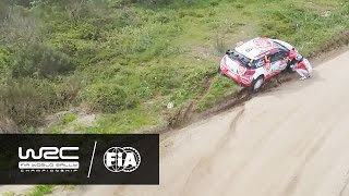 wrc vodafone rally de portugal 2016 highlights stages 8 12