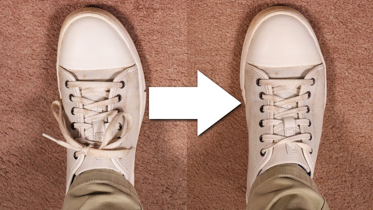 How To Make Laces Shorter \u0026 Concealed