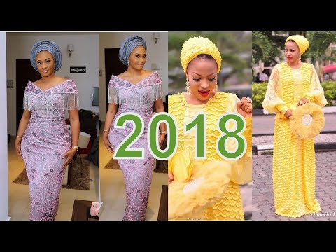 2018 African Lace Styles Best Collection African Styles