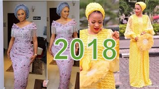 2018 African Lace Styles : Best Collection African Styles