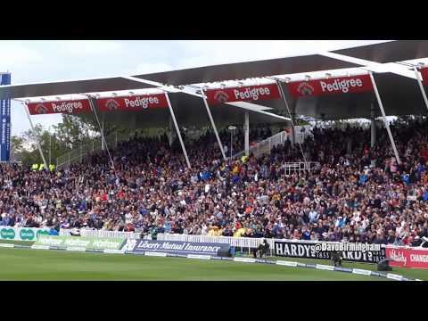 Davo's Diary: England fans at Edgbaston (v Australia)