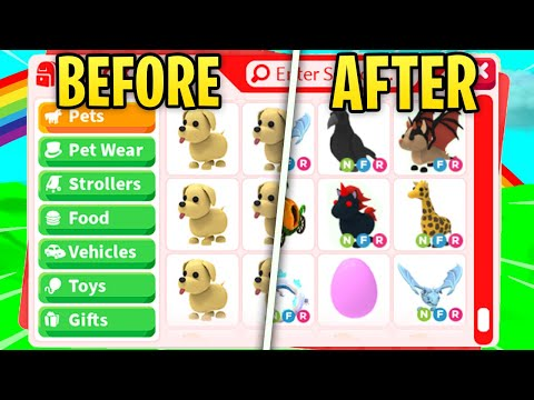 i did 100 trades in this video........(adopt me roblox)