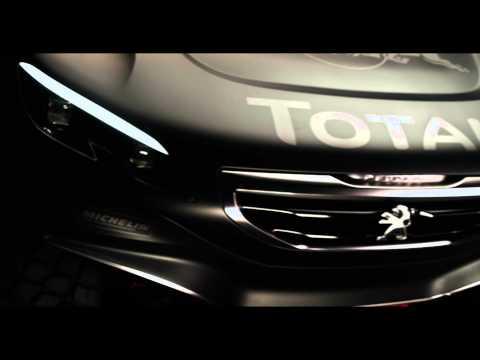 Peugeot 2008 DKR uncaged for world