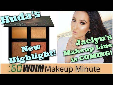 Huda Beauty Bronze Sands! Jaclyn Hill's Makeup Line Launch is Coming Soon!   Makeup Minute