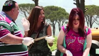 """بالفيديو.. """"لاميتا"""": """"من كتر أكل الفول في مصر بقيت حامل في 6 شهور"""""""