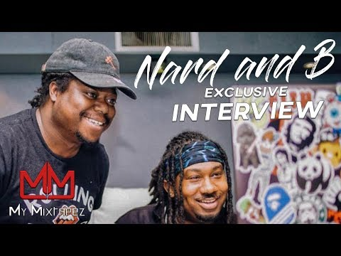 Nard and B - We started out with T.I. and got hands on learning putting beats on Albums [Part 1]
