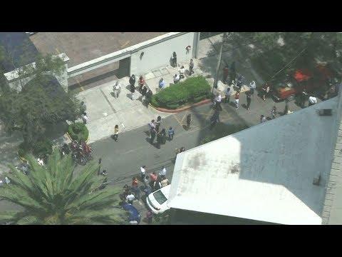 Magnitude 7.1 earthquake rattles Mexico City, Puebla