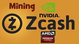 Maйнинг Zcash ZEC на Видеокарте  Настройка пула nanopool 2018