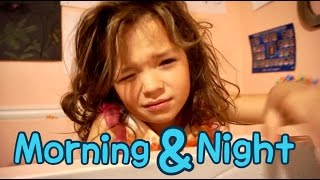 SPRING MORNING & NIGHT ROUTINE | LARGE FAMILY SCHOOL ROUTINE