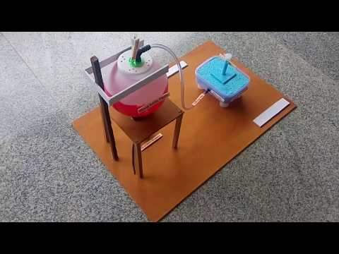 Chemistry project – working model