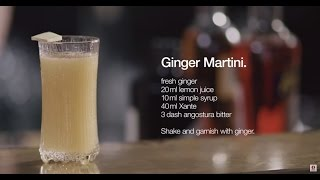 Ultima Thule Drinks By Iittala - Ginger Martini