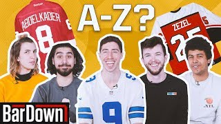 CAN YOU PASS THIS A-Z NHL NAMES QUIZ?