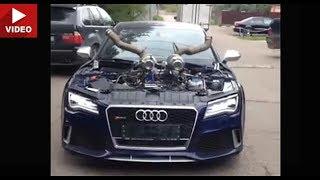 Самая быстрая в мире Audi RS7 Twin Turbo Stage 4 на 1100 л.с
