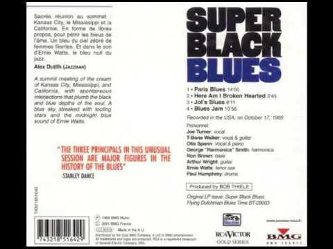 T-Bone Walker - Super Black Blues (Full Album)