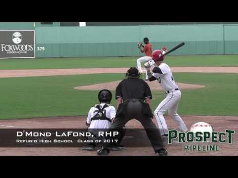 D'Mond LaFond Prospect Video, RHP, Refugio High School Class of 2017