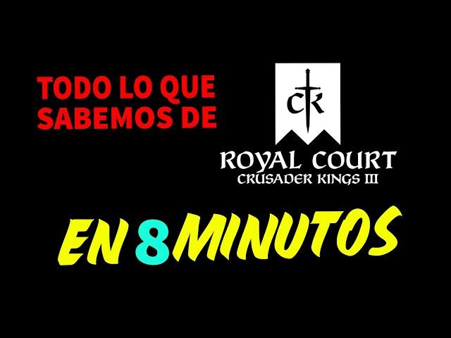 TODO SOBRE CRUSADER KINGS 3 ROYAL COURT EN 8 MINUTOS