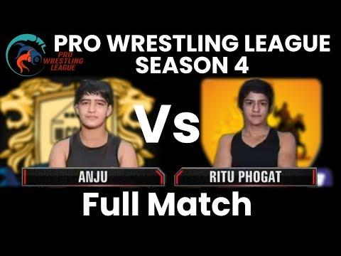 PWL 4 Day 10: Anju vs Ritu Phogat | Punjab Royals vs MP Yodha | Full Match