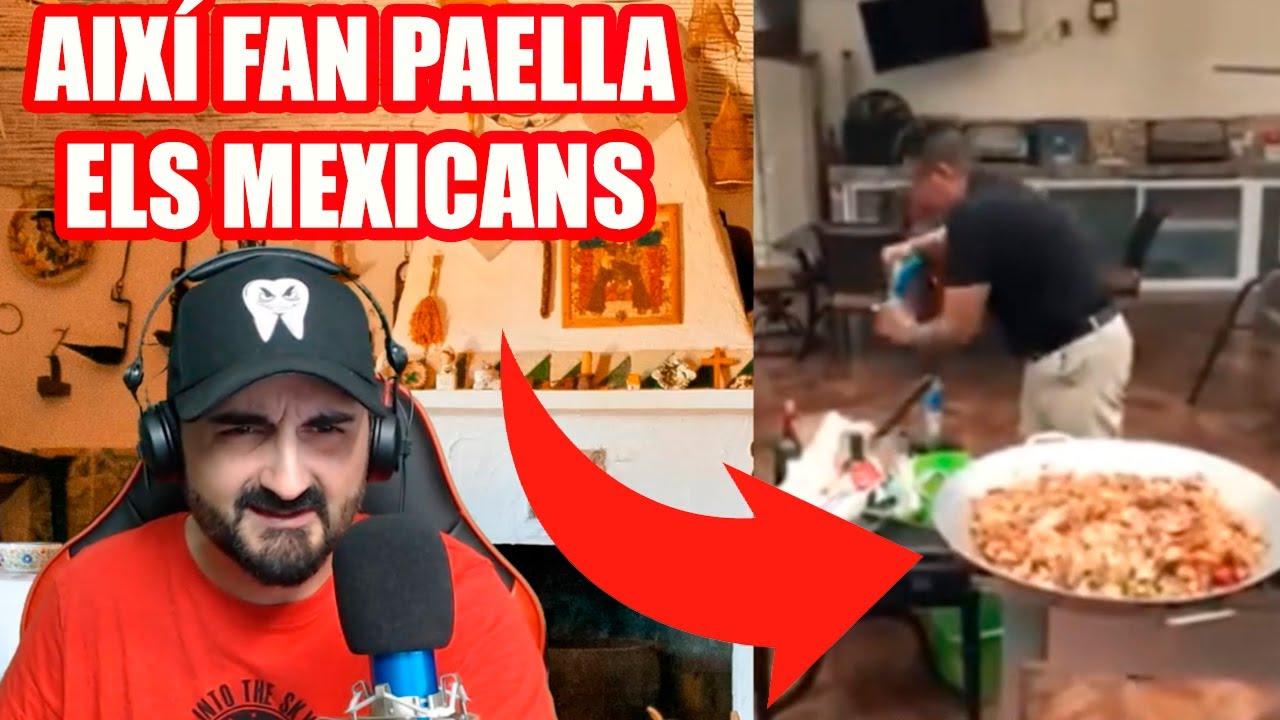 Download BESTIAL❗❗ 🥘 AIXÍ fan PAELLA els MEXICANS 🥘 😂😂