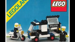lego 1984 police patrol squad set 6684 speed build and review