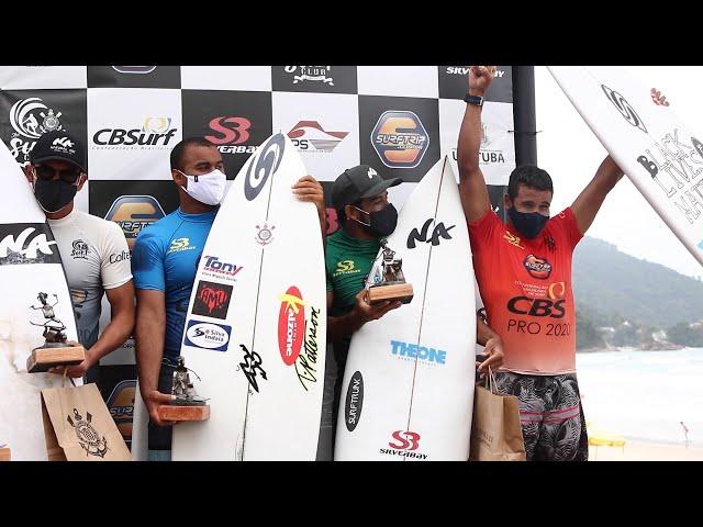CBSurf Pro Tour 2020 em Ubatuba marca a retomada dos campeonatos no Brasil