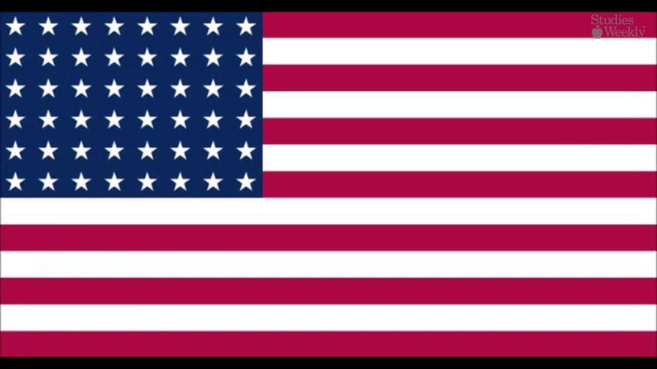 La Bandera De Los Estados Unidos Español
