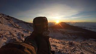 GoPro: Climb Mt Kilimanjaro Via - Machame Route - Solo in HD