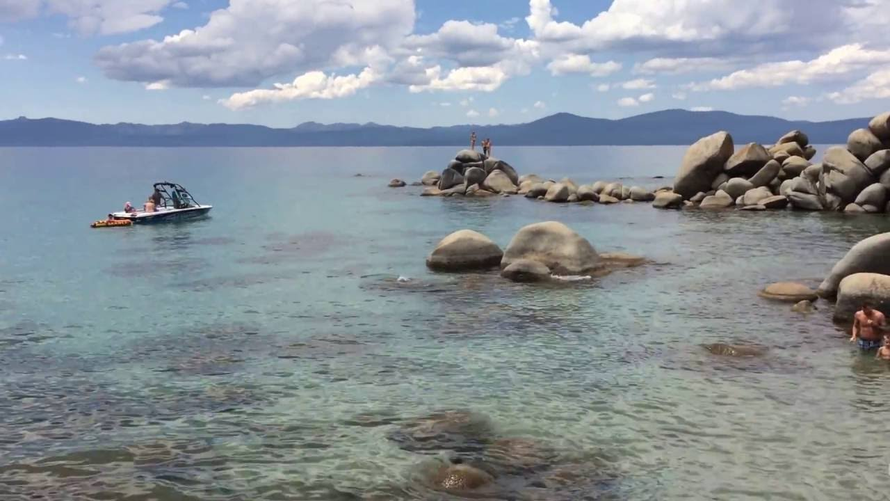 Chimney Beach Lake Tahoe State Park