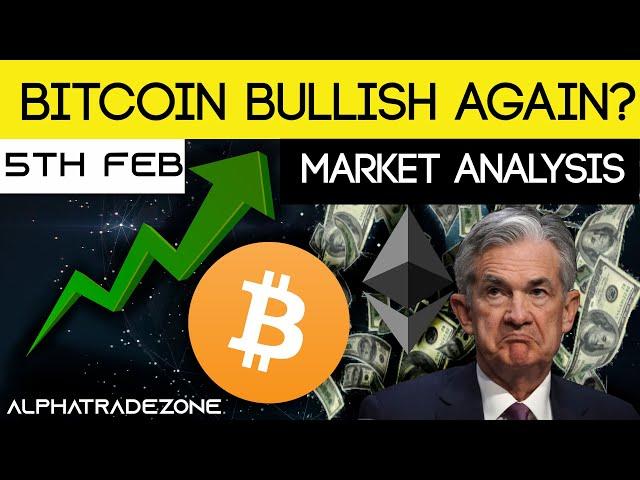 CRYPTO MARKET ANALYSIS   Bitcoin Bullish Again? 5th Feb 2021