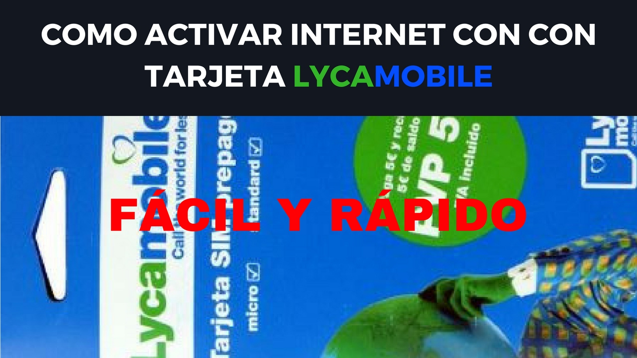 activar internet lycamobile youtube. Black Bedroom Furniture Sets. Home Design Ideas
