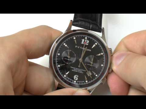 How to set time and date on a chronographиз YouTube · Длительность: 3 мин11 с