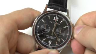 How to set time and date on a chronograph