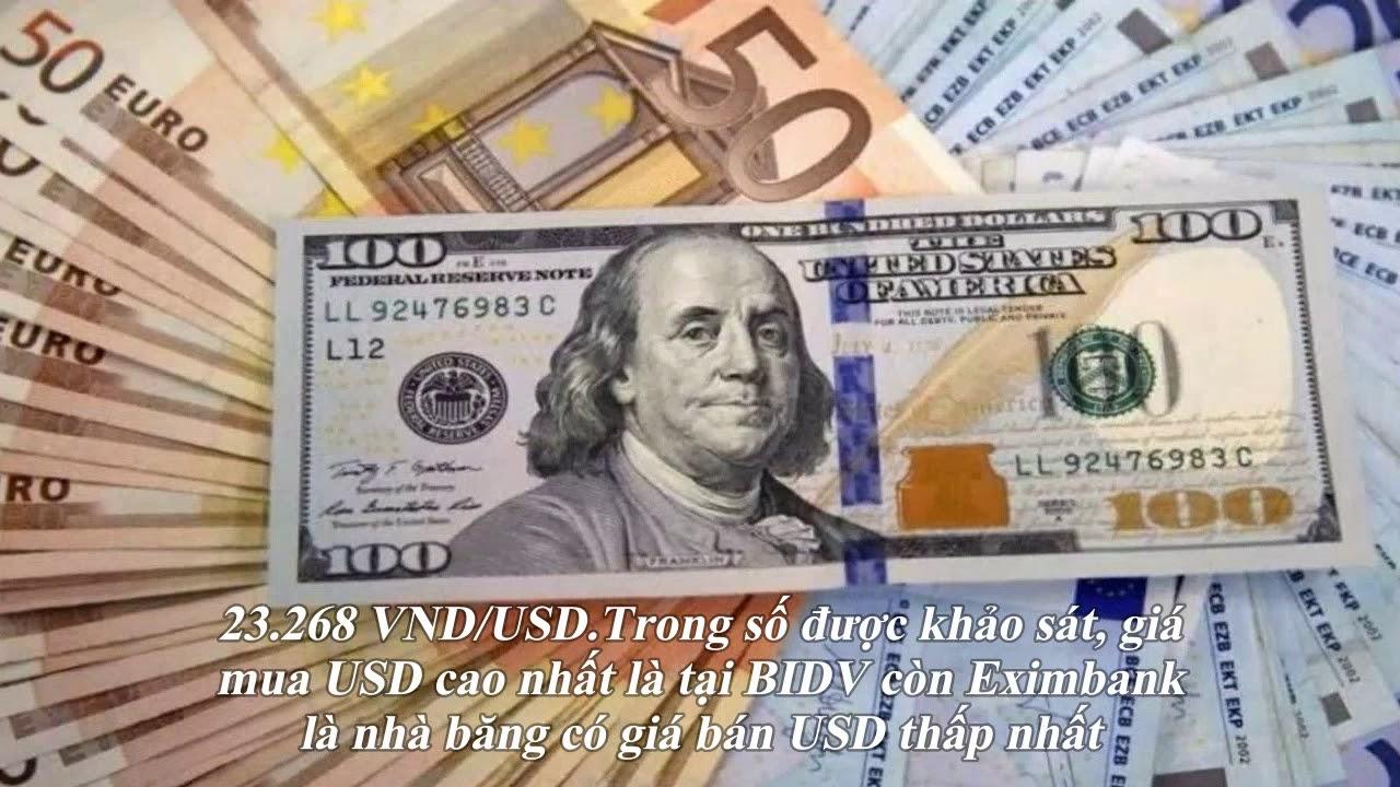 Tỷ giá USD hôm nay 28/11: USD tăng giá nhờ GDP Mỹ tích cực, giá USD trong nước biến động trái chiều