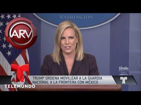 Trump envía a la Guardia Nacional a frontera con México | Al Rojo Vivo | Telemundo