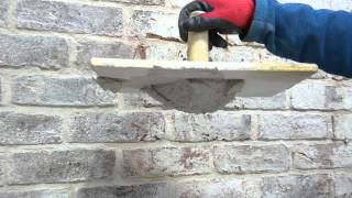 Pointing with Lime Mortar from Lime Green Products thumbnail
