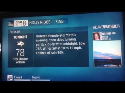 Holly Ridge, NC Intellistar - 7/27/16 - 3:58pm