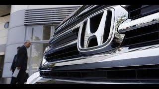 Honda отзывает автомобили из-за бракованных подушек безопасности