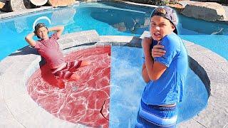 HOT vs COLD Pool Challenge!