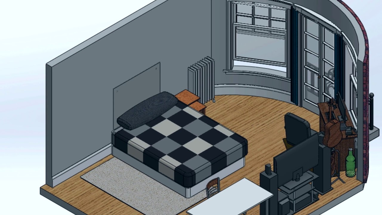 ep 1 rearranging my room virtually youtube. Black Bedroom Furniture Sets. Home Design Ideas
