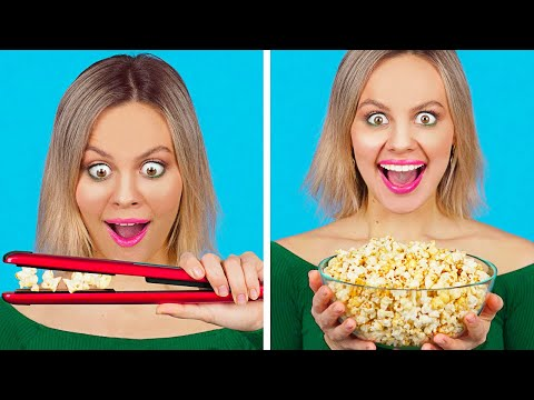 cool-food-hacks-and-funny-tricks-||-easy-diy-food-tips-and-life-hacks-by-123-go!