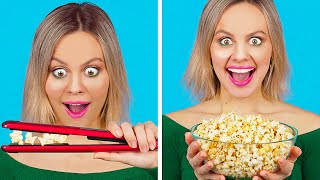 COOL FOOD HACKS AND FUNNY TRICKS || Easy DIY Food Tips and L...