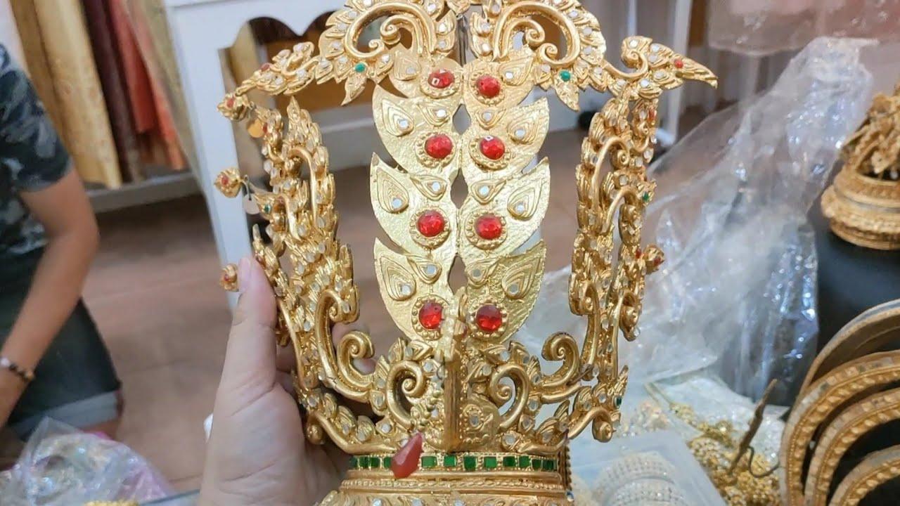 12.(ร้านเช่าเครื่องประดับ�ละชุดไทย)🇹🇭 Accessories and Thai costume rental shop #Thai #travel ���