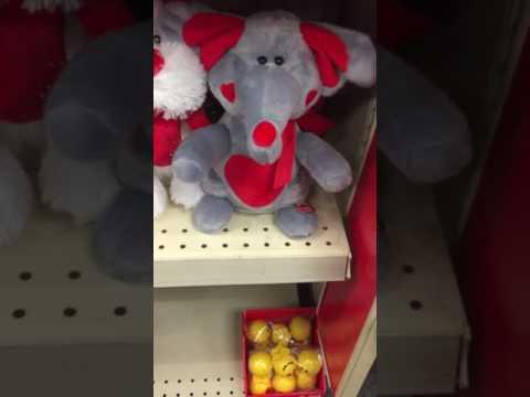 Valentine singing elephant 2017