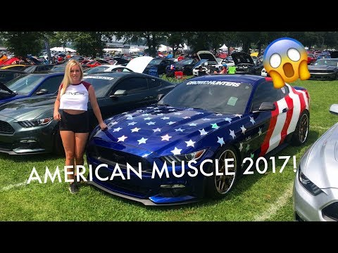 THOUSANDS OF MUSTANGS!! American Muscle Mustang Show 2017
