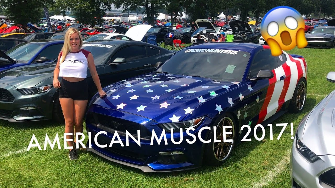 THOUSANDS OF MUSTANGS American Muscle Mustang Show YouTube - American muscle car show