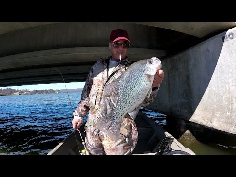 Crappie Fishing - Vertical Jigging For Big Slabs On Lake Guntersville